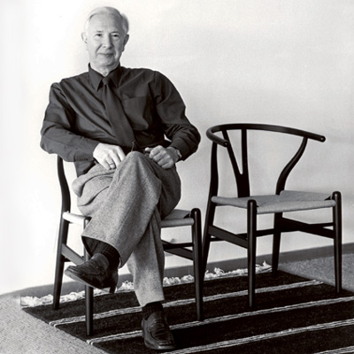 Hans j wegner for Famous scandinavian furniture designers