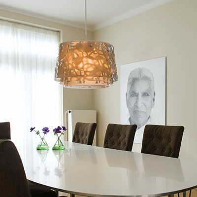 Lampe collage