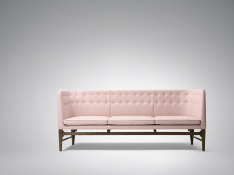 Mayor sofa lysserød