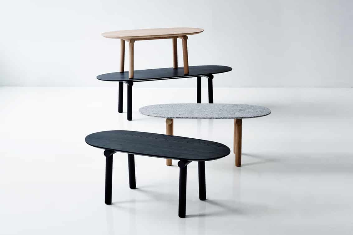 Savannah table by Monica Förster – Erik Jørgensen