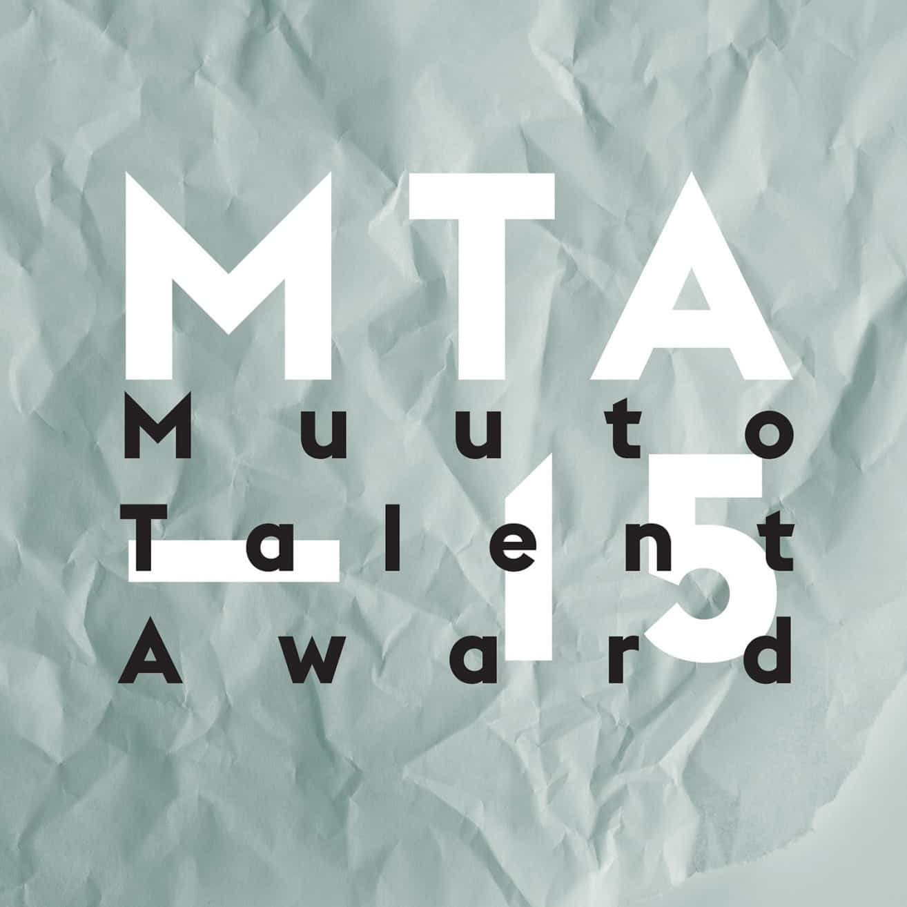 Muuto Talent Award 2015