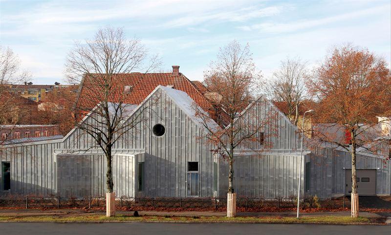 """""""En byggnad som väcker känslor"""" får tungt arkitekturpris"""