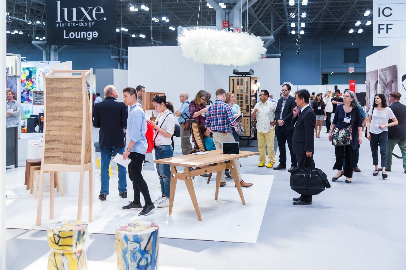 ICFF Is North Americas Premiere Trade Showcase For Architecture And Fine Interior Design The Four Day Show Attracts More Than 700 Exhibitors From All