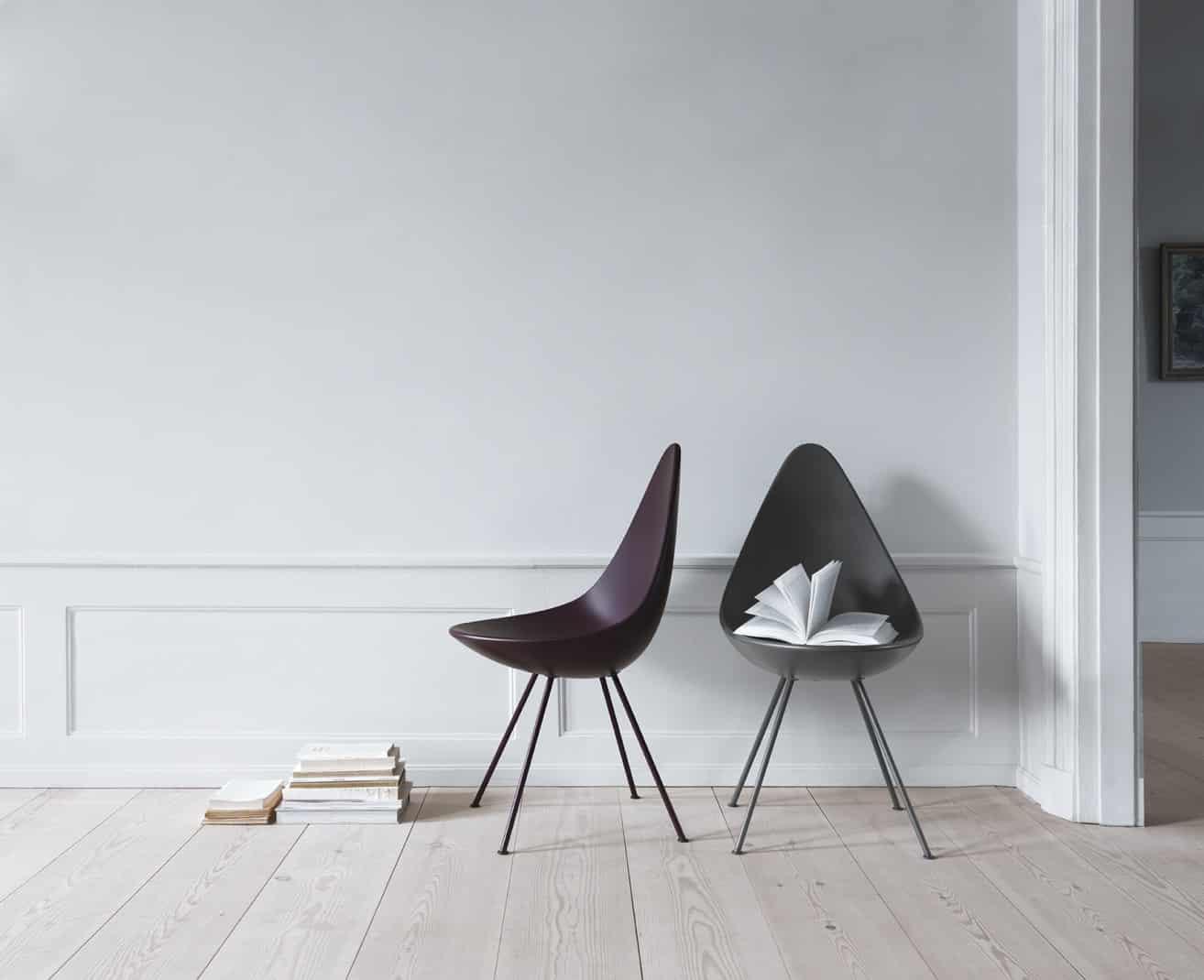 Fritz Hansen Stoel : The drop in new colours u fritz hansen scandinaviandesign