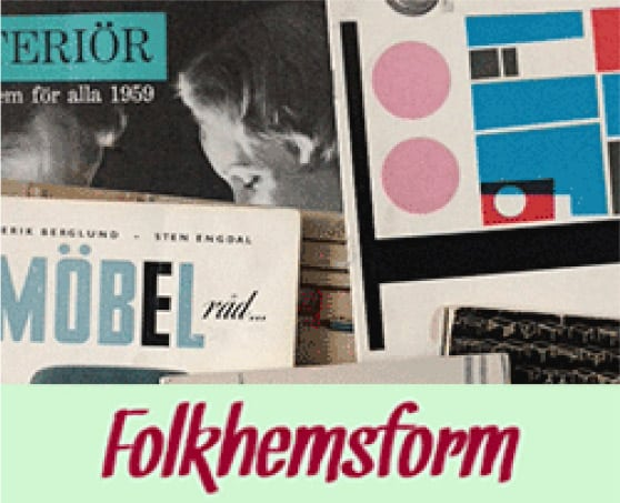 Folkhemsform - Svenska möbler 1949-1979