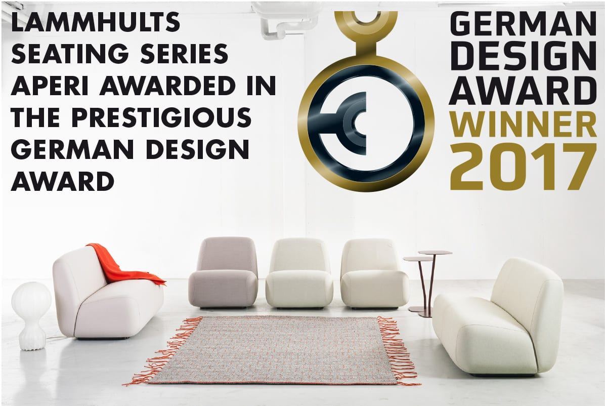 Aperi easy chair & sofa – Winner of the German Design Award