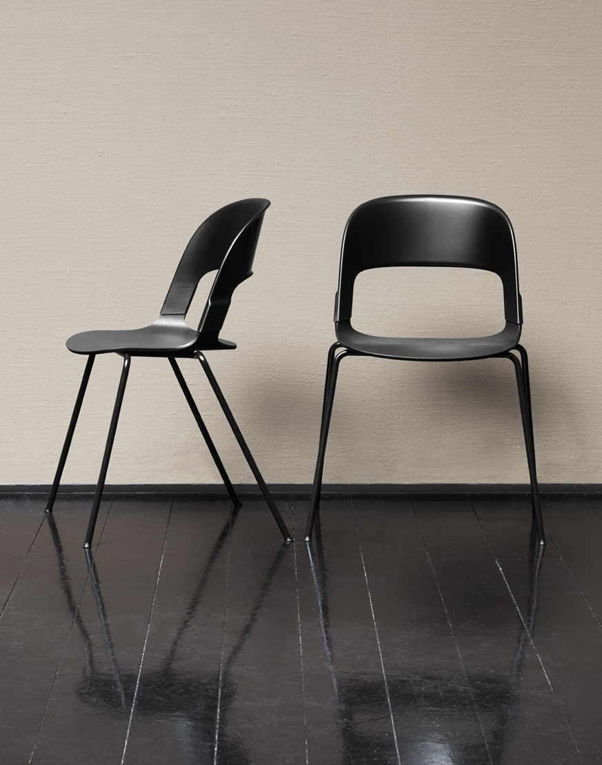 chair pairs fritz hansen scandinavian design. Black Bedroom Furniture Sets. Home Design Ideas