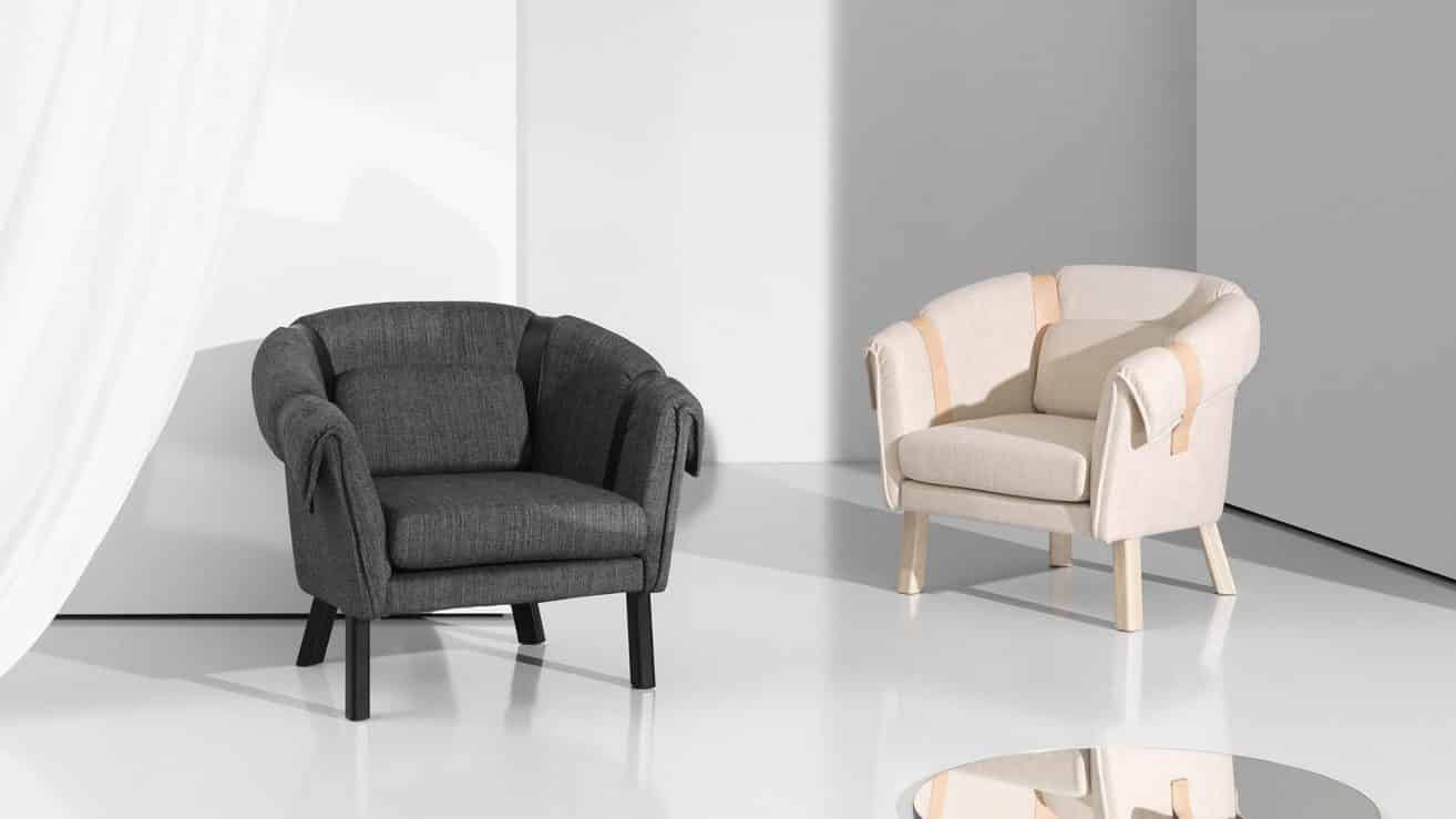 Ram easy chair by Fredrik Färg & Emma Marga Blanche – DHS