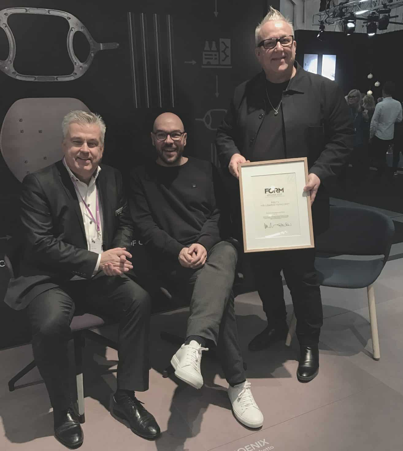 Offecct awarded with Sustainability project of the year