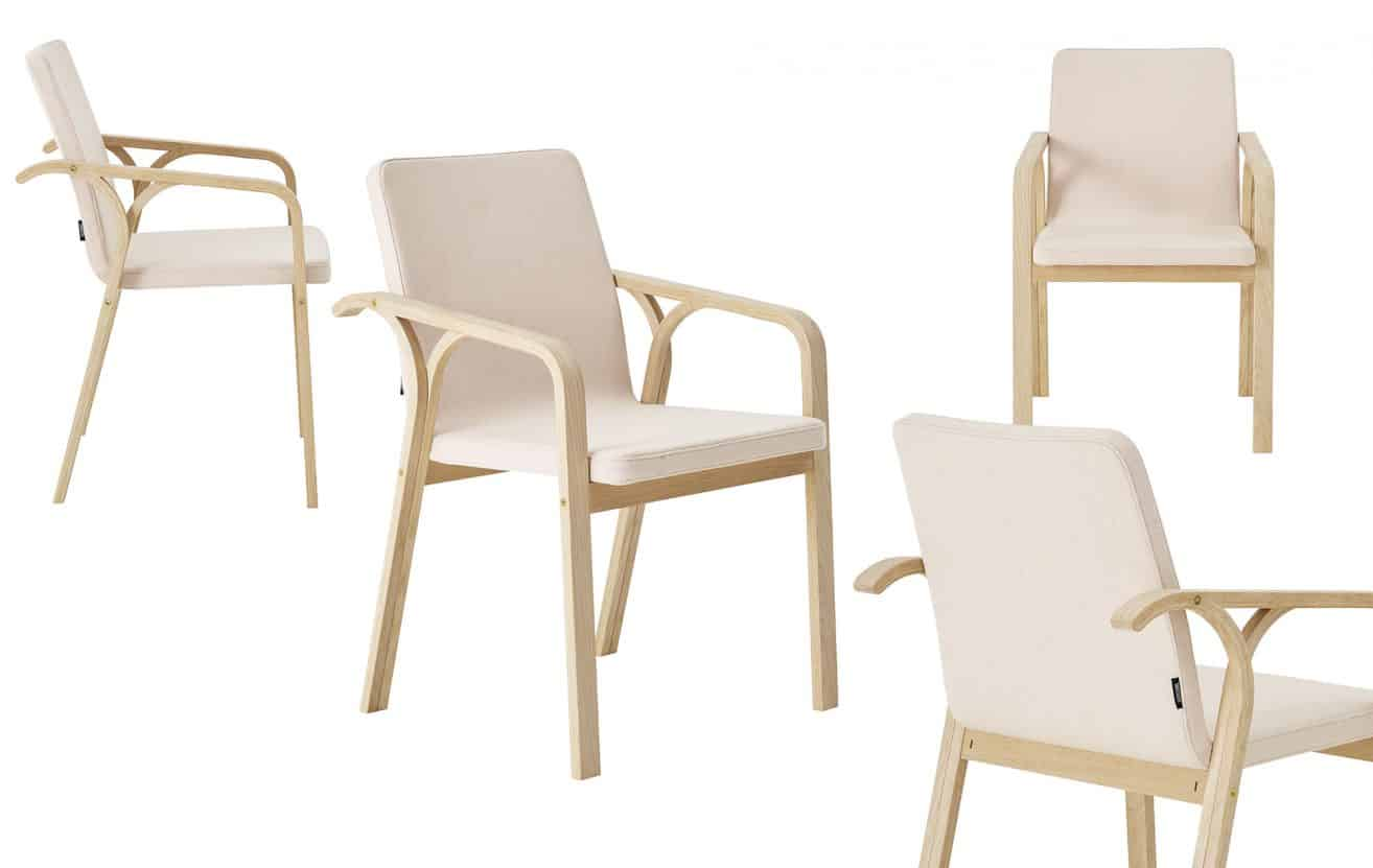 Armchair Mino by Thomas Sandell – Swedese