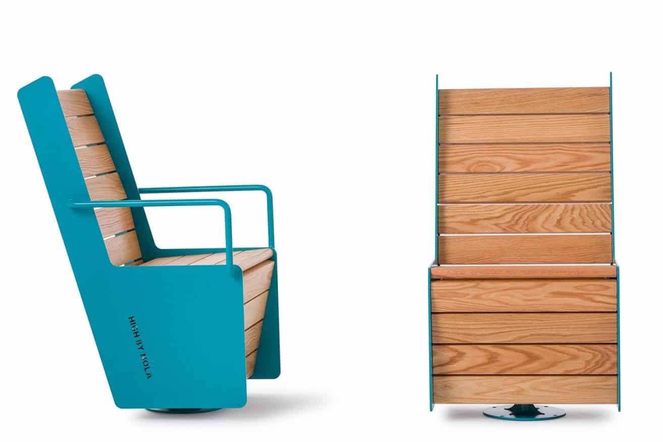 High Swivel Chair by Mats Aldén – Nola