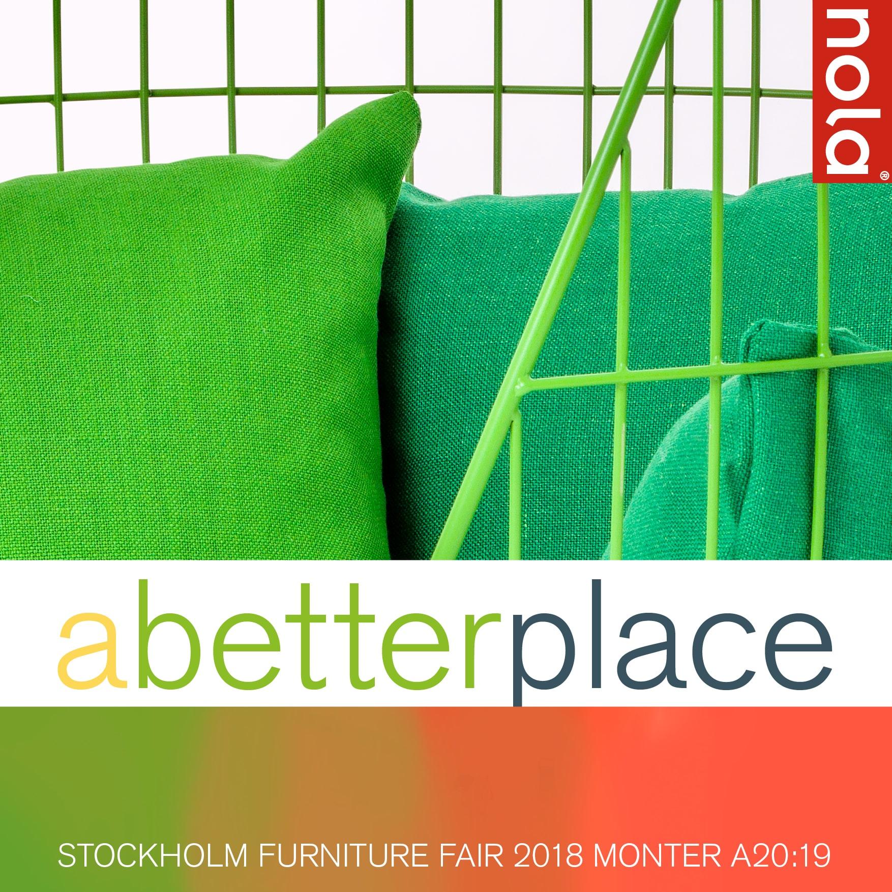A Better Place Nola Stockholm Furniture Fair 2018 Scandinavian Design