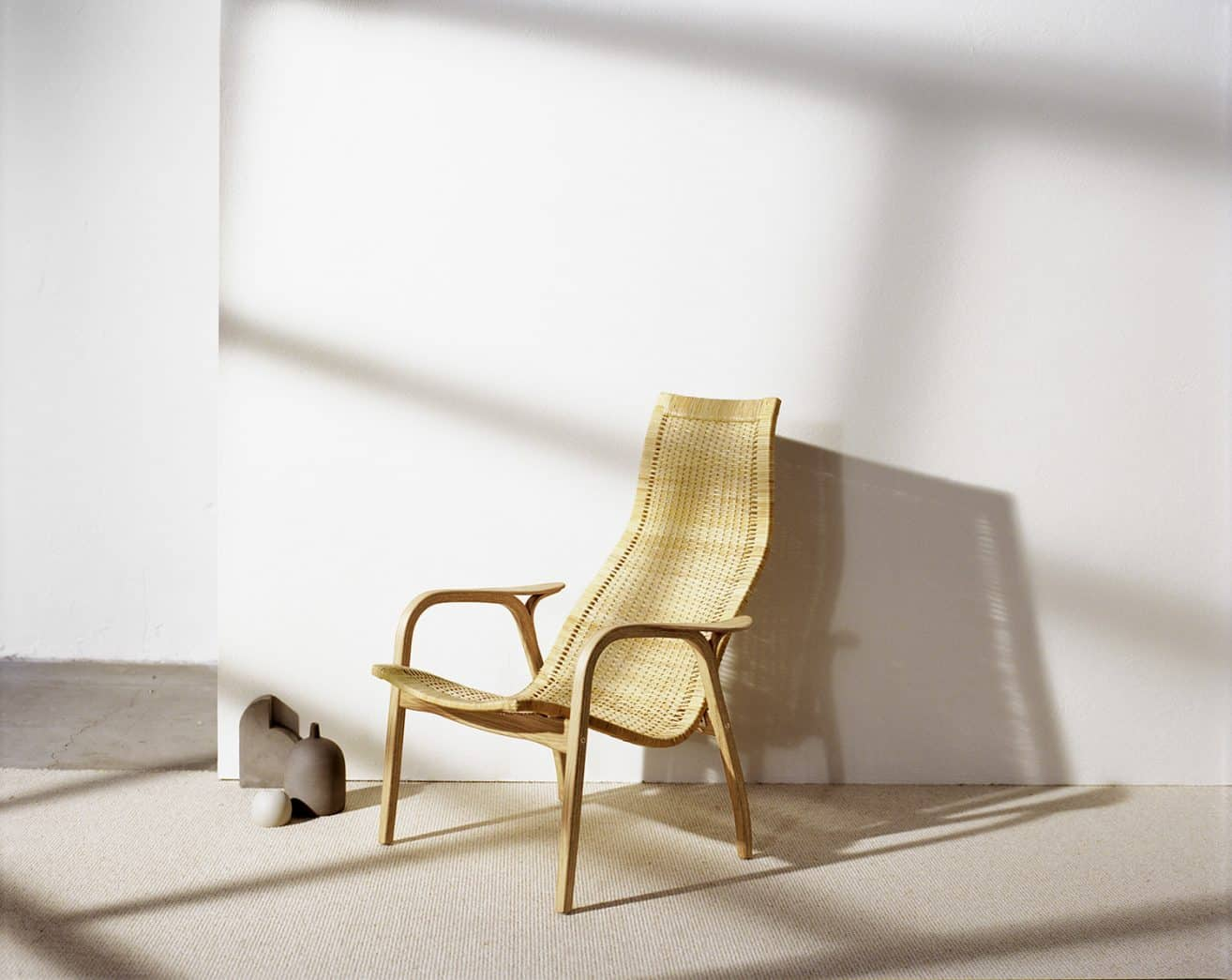 SWEDESE is relaunching three classic chairs by Yngve Ekström – Caryngo – Thema – Lamino Rattan