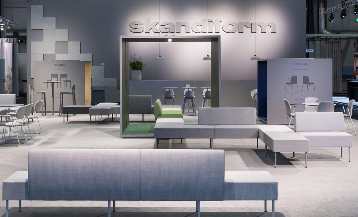 Nestor modular sofa – Skandiform