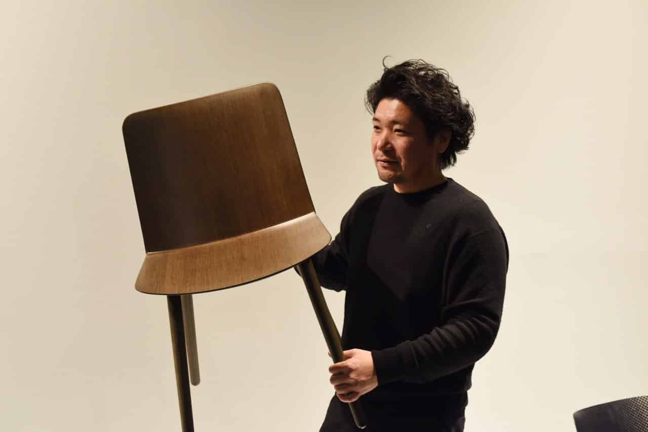 A light strong and bio-based chair by Jin Kuramoto – Offecct