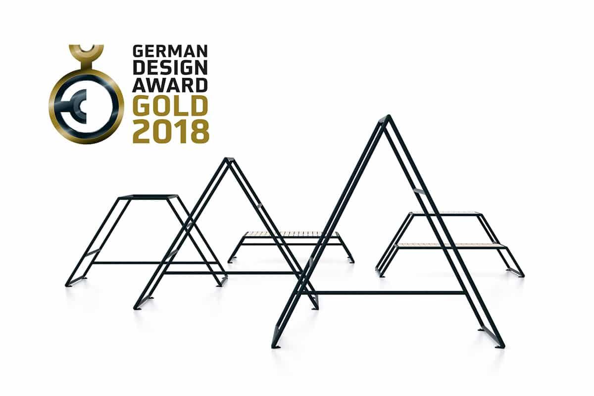 2 gold 1 winner german design award ceremony 2018 scandinavian design. Black Bedroom Furniture Sets. Home Design Ideas