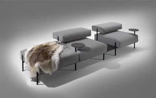 New platform sofa by Lucy Kurrein – Offecct