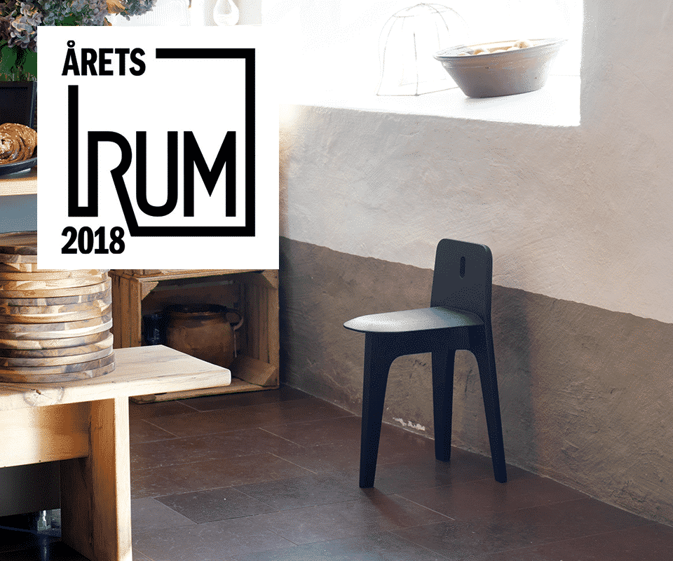 "The Furnishing Utopia Project with Stove is awarded ""Furniture of the Year"" by Årets Rum!"