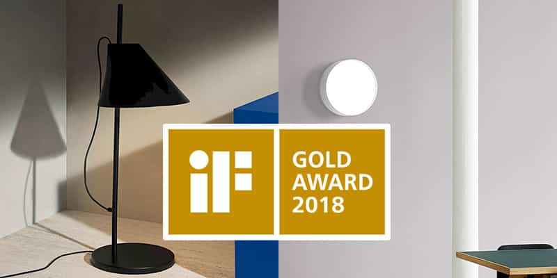 Louis Poulsen Wins iF Gold Award and iF Design Award 2018!