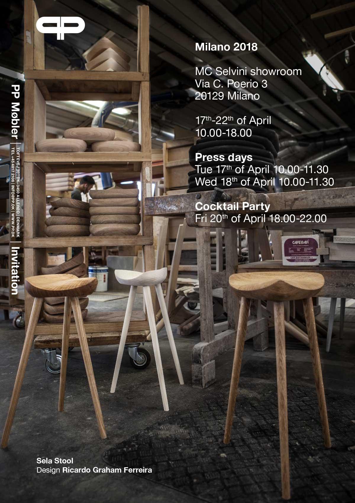 PP møbler in Milano