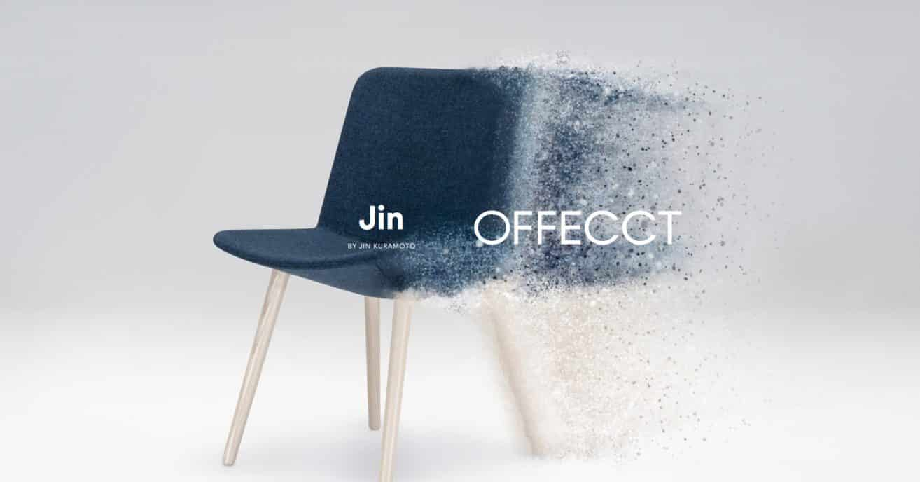 New version of JIN chair – OFFECCT during Salone del Mobile 2018