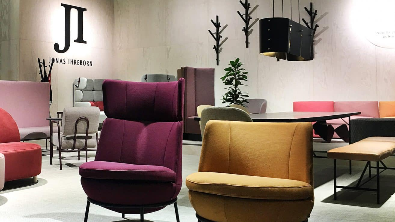 Jonas Ihreborn @ Stockholm Furniture Fair 2019