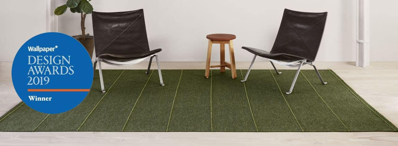 Wallpaper* Design Award for Kasthall rug Ängsmark by Ilse Crawford