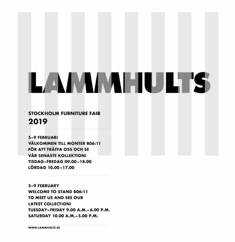 Lammhults @ Stockholm Furniture Fair 2019