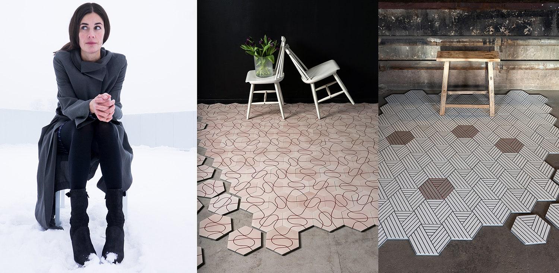 Tiles By Charlotte Von Der Lancken
