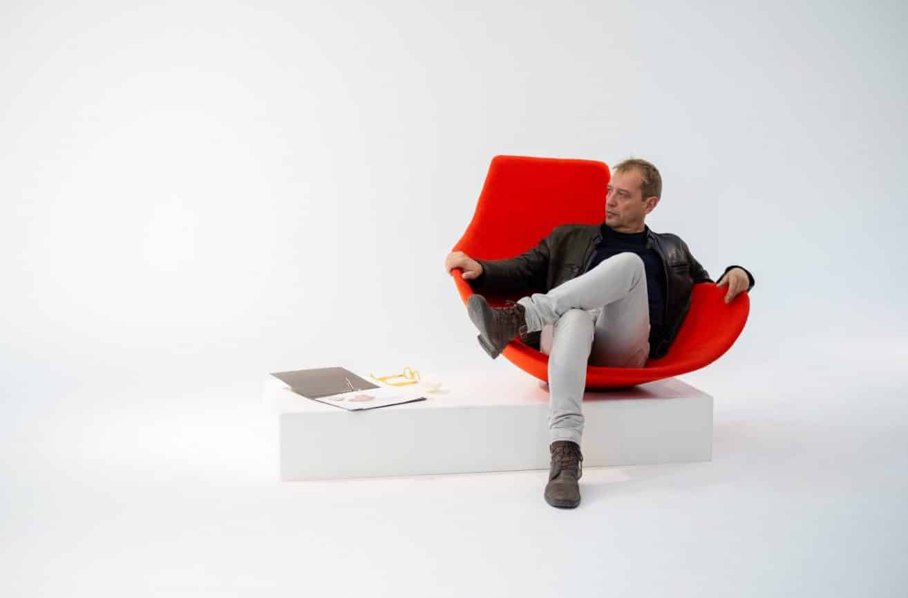 Babled easy chair – Offecct