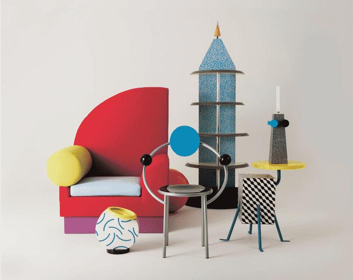 Design from 1980s @ Museum of furniture Studies