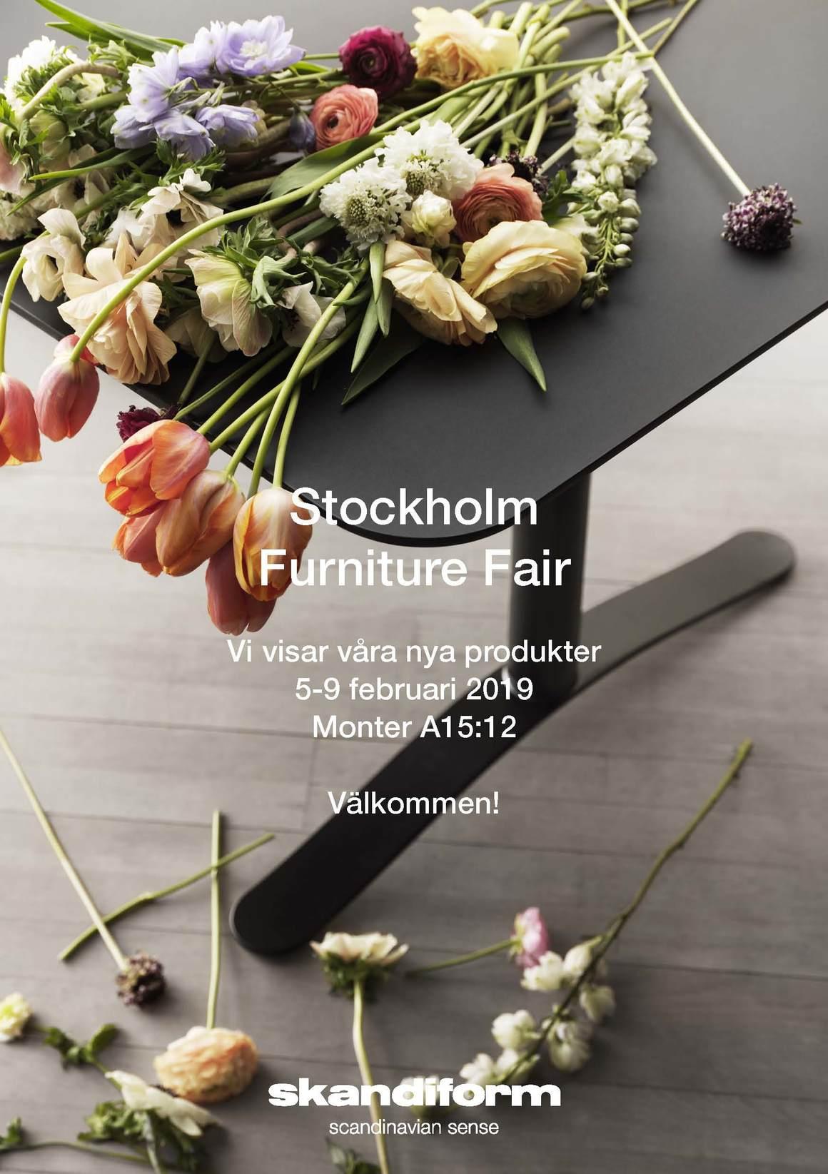 Skandiform @ Stockholm Furniture Fair 2019