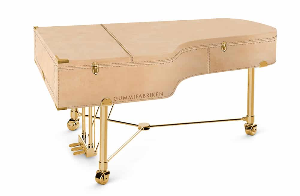 Mats Theselius designs a grand piano for Gummifabriken in Värnamo