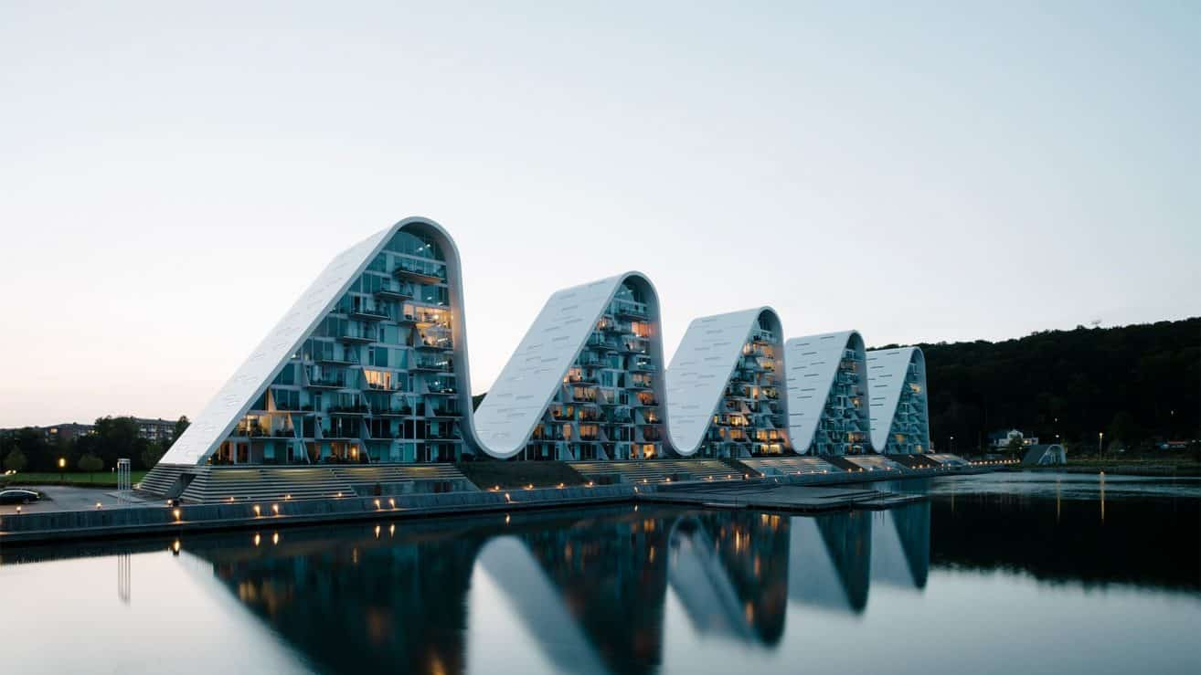 The Wave in Vejle is Now Complete