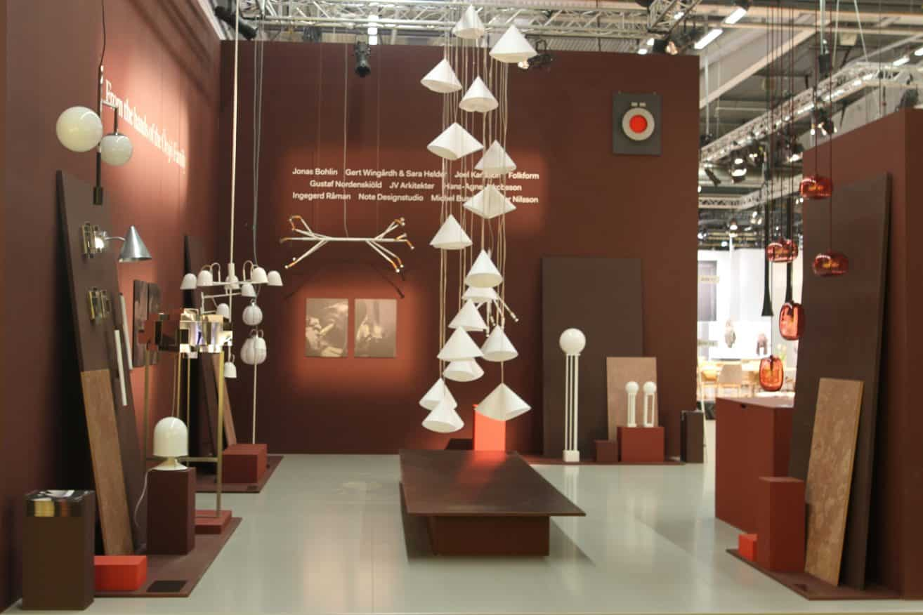 Örsjö Belysning celebrates its heritage with a Folkform designed-display