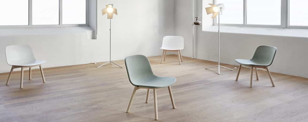 Neo Lite easy chair by Fredrik Mattson – Materia