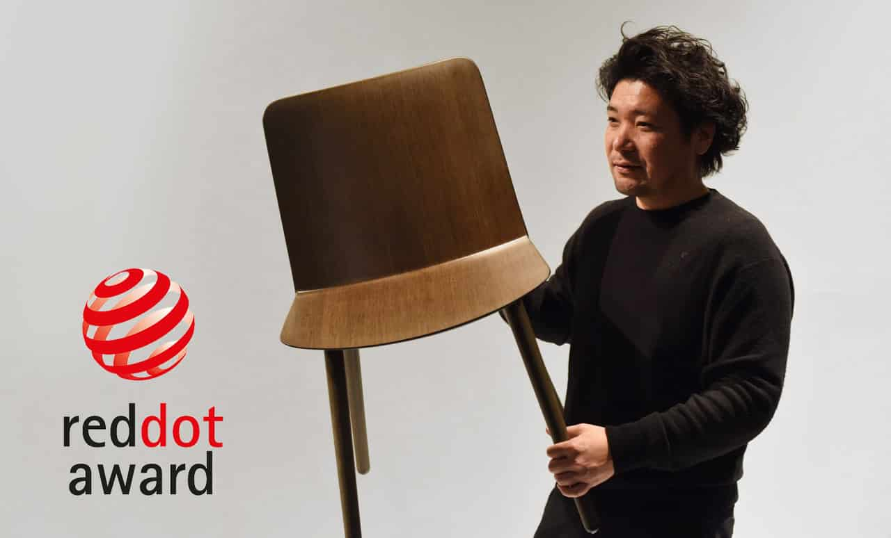 Jin by Jin Kuramoto receives top distinction in the Red Dot Award: Product Design