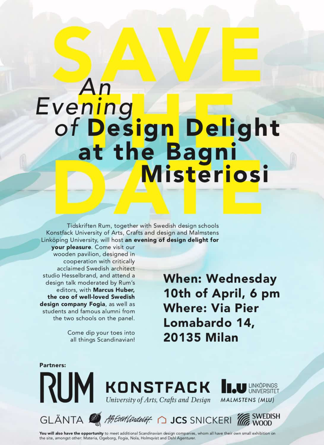 Design Delight @ The Bagni Misteriosi, Milan