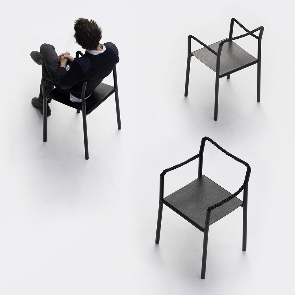 Ronan & Erwan Bouroullec rope chair by ronan & erwan bouroullec – artek