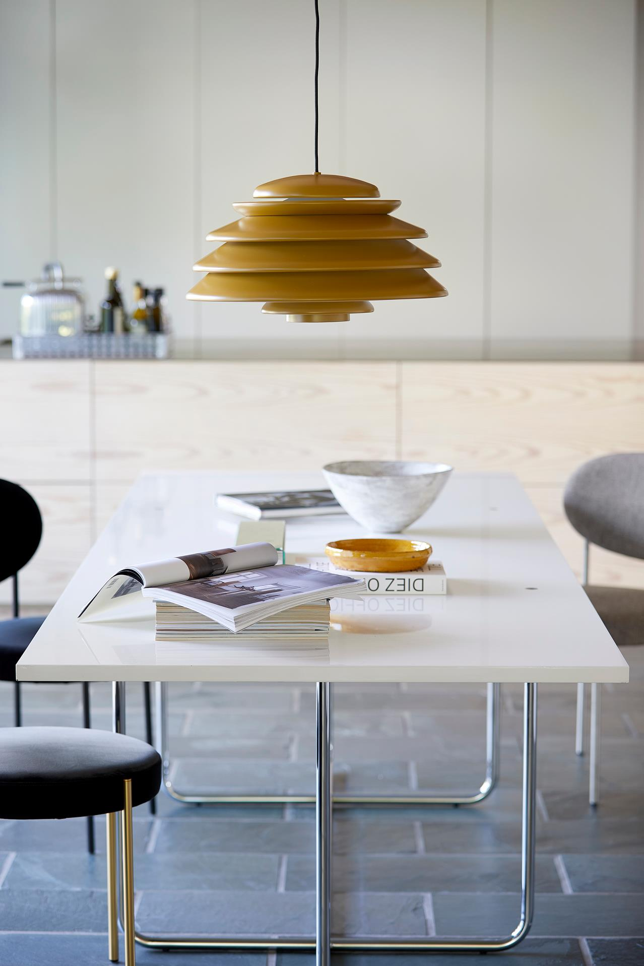 New icons from the Panton archives, Hive pendant & Reflect