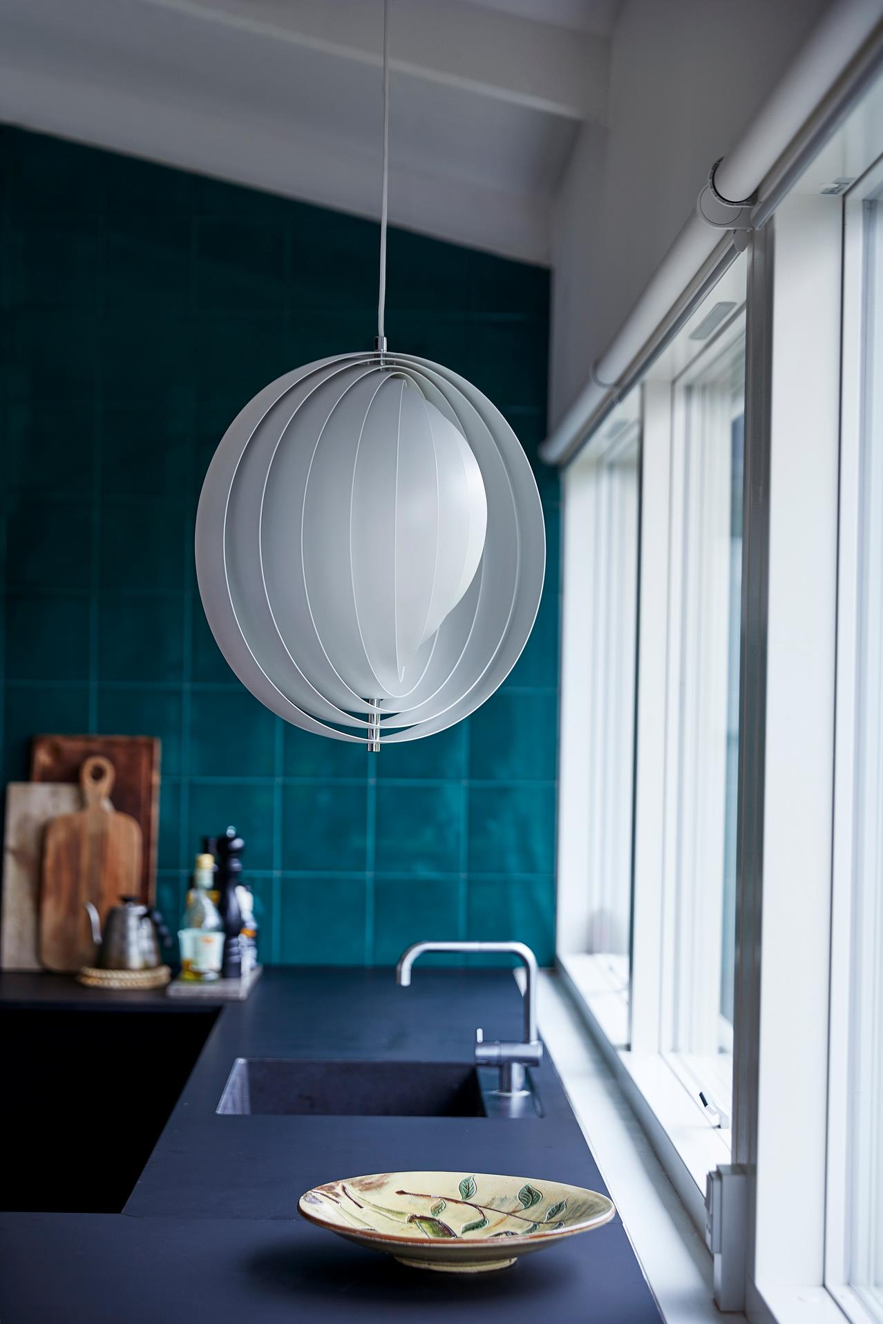 60th Anniversary; the Moon pendant by Verner Panton