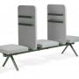 Materia_Ambient_beam_sofa_3a2_3-seat-units-2-screens-w-magazine_holder_green-beam