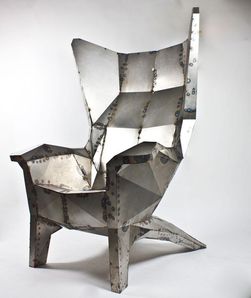 Nice Metall Design Pictures Konsolentisch Tisch 100x80x45cm Massiv
