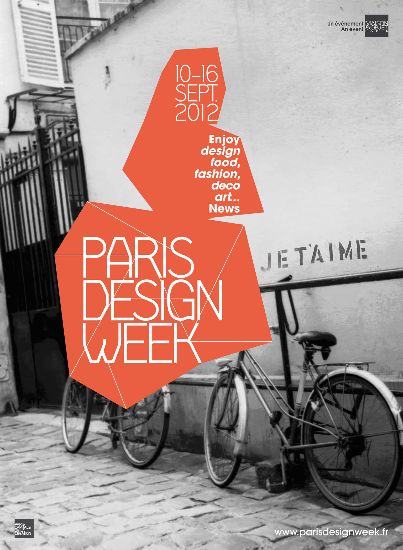 paris design week 10 16 9 2012 scandinavian design. Black Bedroom Furniture Sets. Home Design Ideas