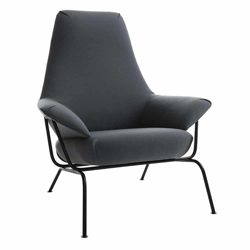 hai lounge chair one nordic scandinavian design. Black Bedroom Furniture Sets. Home Design Ideas