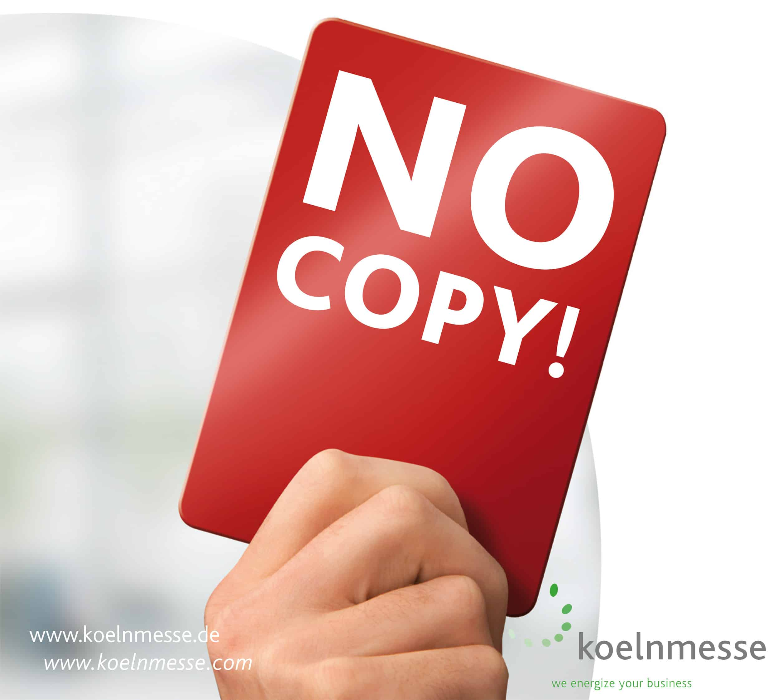No Copy! – Originals only!